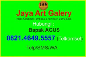 Kontak Person Jaya Art Galery, Kontak JAG